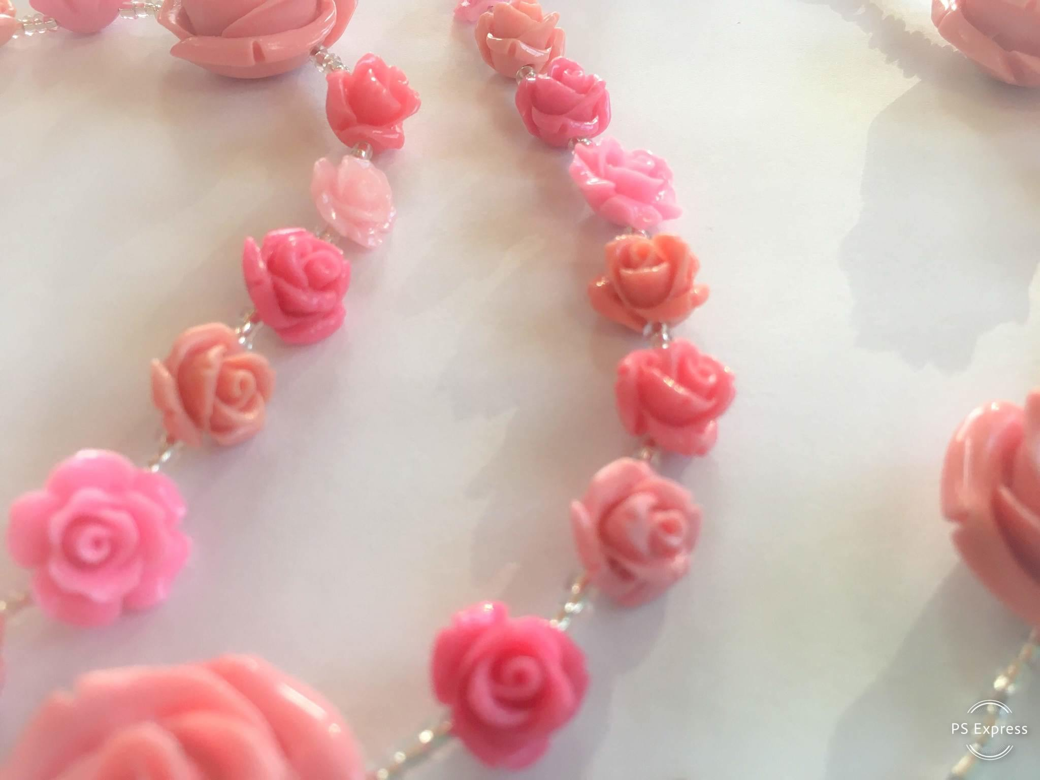 Shower Of Roses Rosary Made To Order Peter S Square